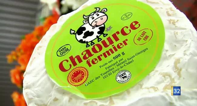 Canal 32 - L'assiette auboise : Croustillant de Chaource au miel, pignon de pin