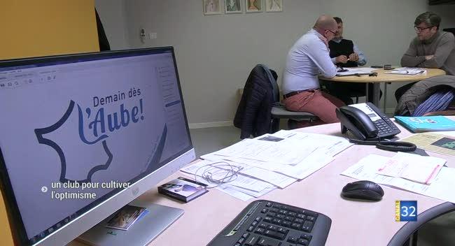Canal 32 - L'association Demain dès l'Aube prône l'optimisme économique