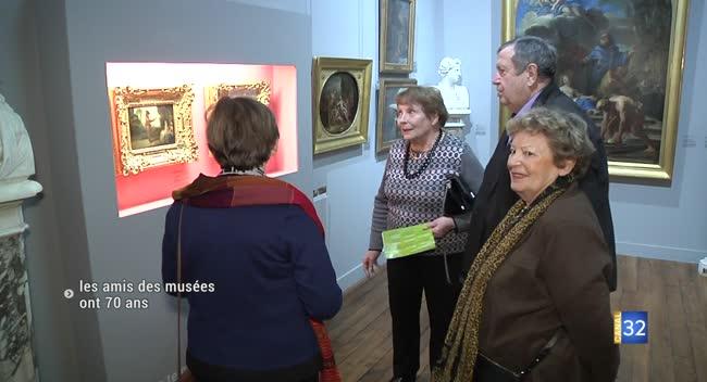 Canal 32 - L'association Les amis des musées d'art et d'histoire fête ses 70 ans