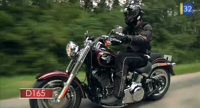Canal 32 - L'Aube à Moto, Harley-Davidson Fat Boy