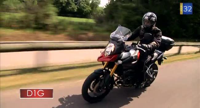 Canal 32 - L'Aube à Moto Suzuki DL 1000 V-Strom