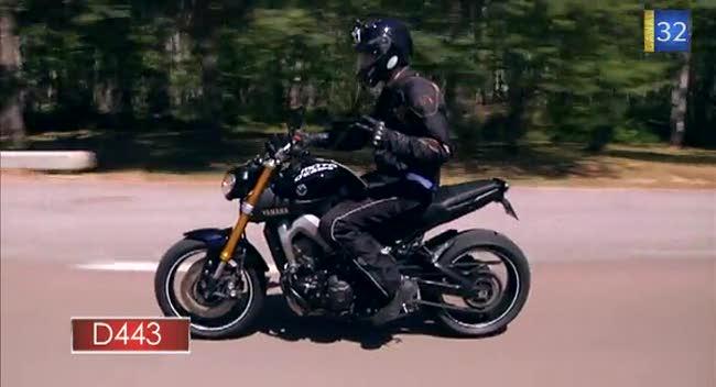 Canal 32 - L'Aube à Moto, Yamaha MT09