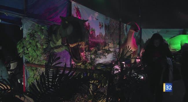 Canal 32 - Lavau : des dinosaures plus vrais que nature !