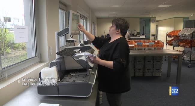 Canal 32 - Lavau : la réinsertion professionnelle grâce à l'Atelier du Courrier