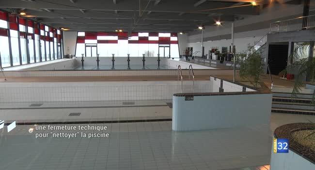 Canal 32 - Romilly-sur-Seine : la piscine provisoirement fermée pour un grand nettoyage