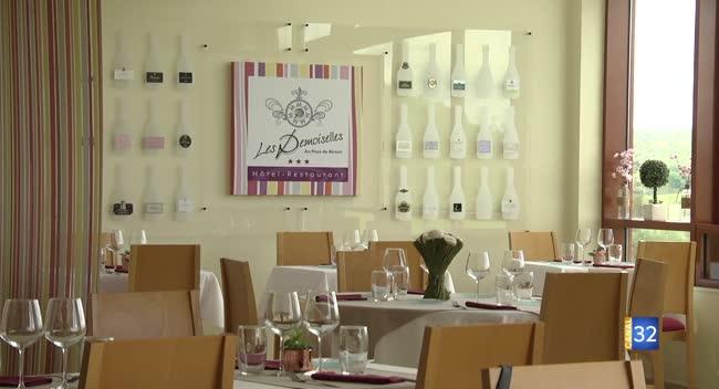Canal 32 - Le Champagne et Renoir s'invitent à l'hôtel restaurant Les Demoiselles d'Essoyes
