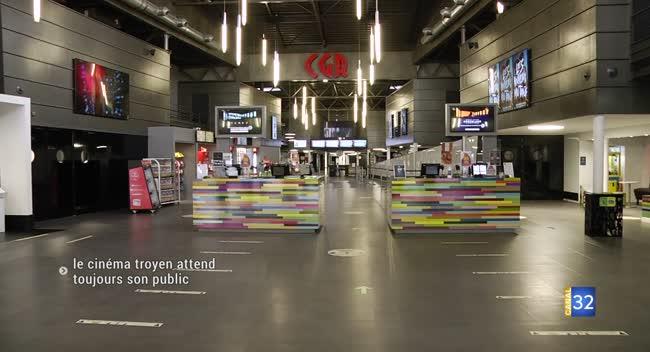 Canal 32 - Le cinéma troyen attend toujours le retour des spectateurs