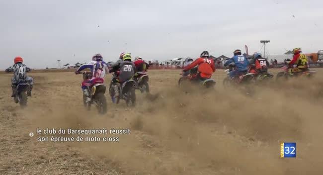 Canal 32 - Le club du Barséquanais réussit son épreuve de moto-cross