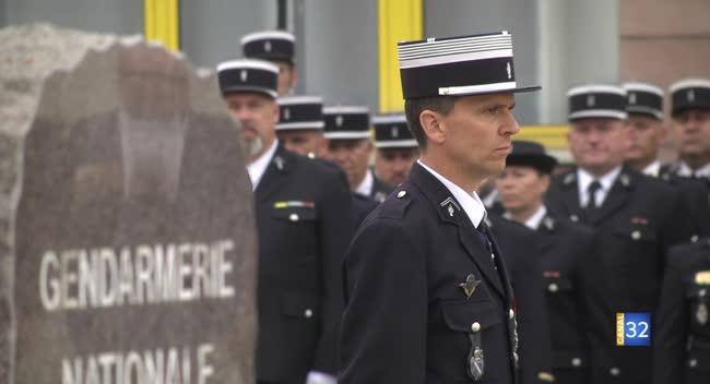 Canal 32 - Le Colonel Thomas Bourgerie à la tête de la gendarmerie de l'Aube