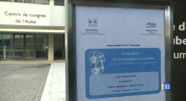 Canal 32 - Le député aubois Gérard Menuel promeut l'usage de l'hydrogène