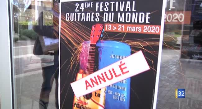 Canal 32 - Le Festival Guitares du Monde annulé à cause du Covid-19