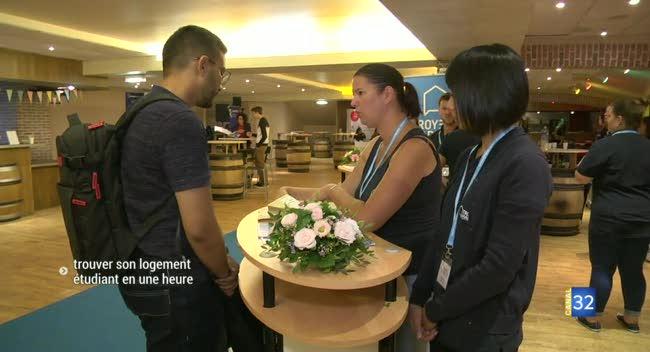 Canal 32 - Le Forum Logement Etudiant : trouver un logement pour la rentrée en moins d'une heure