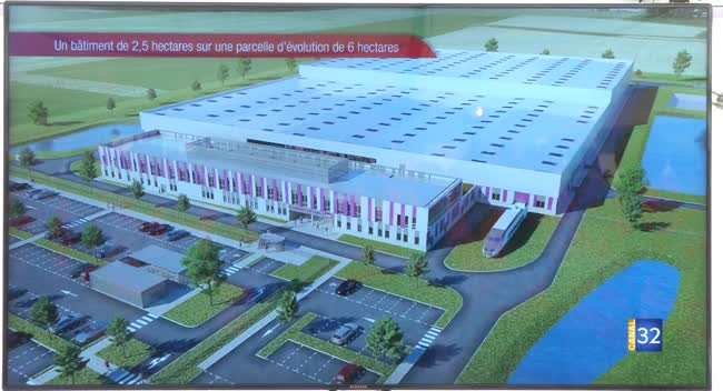 Canal 32 - Romilly-sur-Seine : le futur pôle d'excellence SNCF prend forme