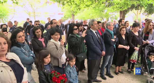 Canal 32 - Le génocide arménien commémoré à Troyes ce mercredi