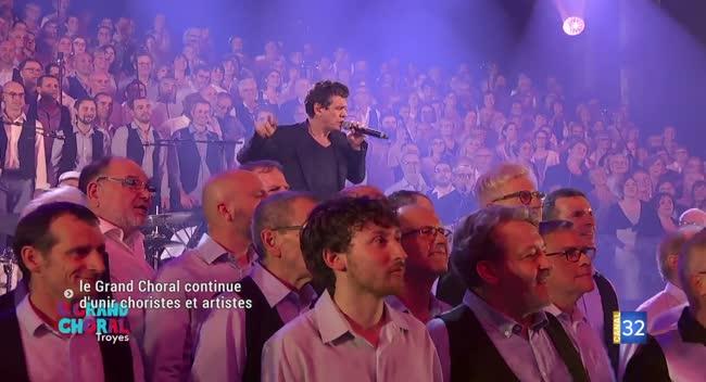 Canal 32 - Le Grand Choral continue d'unir choristes et artistes