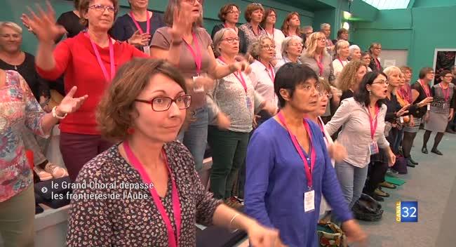 Canal 32 - Nuits de Champagne : le Grand Choral dépasse les frontières de l'Aube