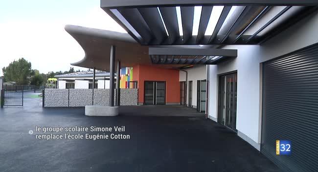 Canal 32 - Romilly-sur-Seine : le groupe scolaire Simone Veil inauguré