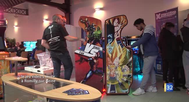 Canal 32 - Romilly Games : un salon du jeu en tout genre