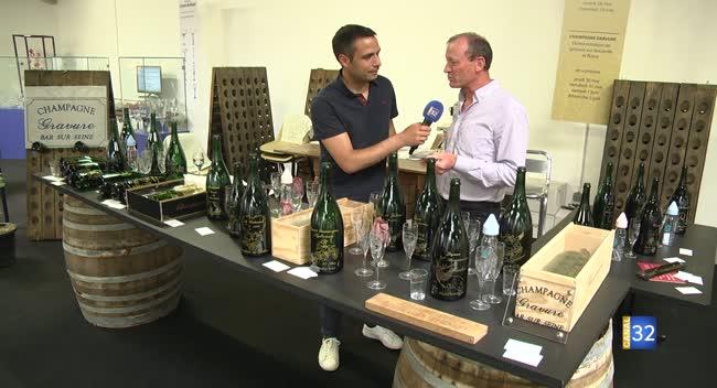 Canal 32 - Le JT des Foires de Champagne : de la vigne au vin et Jean-Luc Lahaye