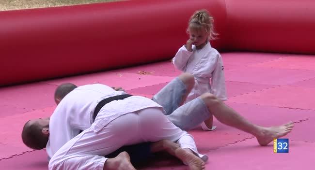 Canal 32 - Le judo été tour fait étape à Bar-sur-Seine