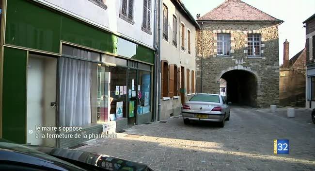 Canal 32 - Ervy-le-Châtel : la mairie s'oppose à la fermeture de l'unique pharmacie
