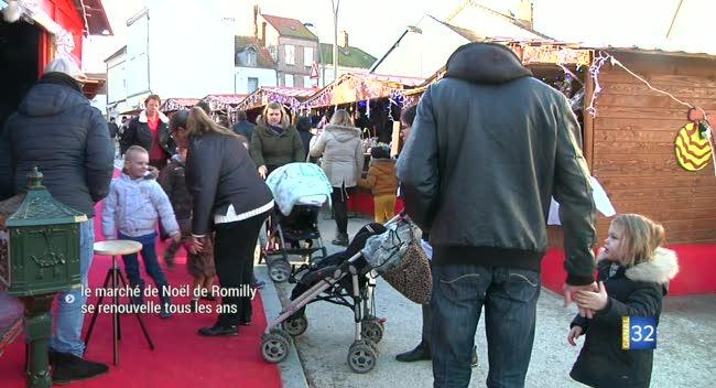 Canal 32 - Romilly-sur-Seine : le marché de Noël s'est renouvelé