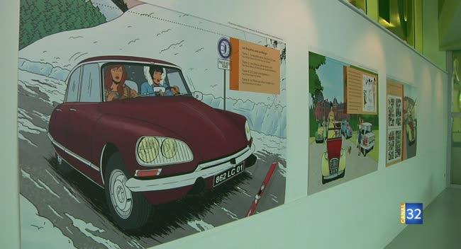 Canal 32 - Le monde automobile des années 60 à travers deux femmes de BD