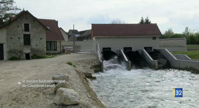 Canal 32 - Le moulin hydroélectrique de Courteron renaît