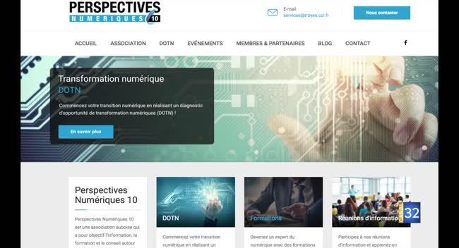 Canal 32 - Le numérique : la CCI Troyes et Aube accompagne les entreprises