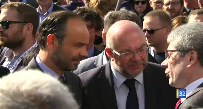Canal 32 - Le Premier Ministre, Édouard Philippe, a inauguré la Foire de Châlons