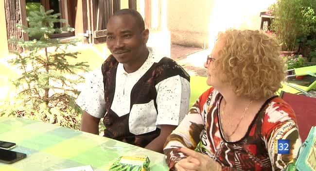 Canal 32 - Le président de l'Assofrani au Niger dans l'Aube