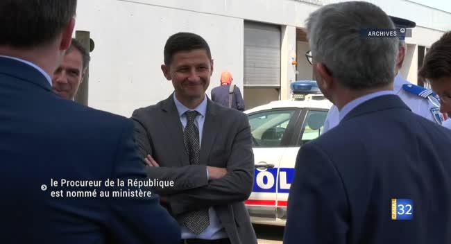 Canal 32 - Le Procureur de la République nommé au Ministère de la justice
