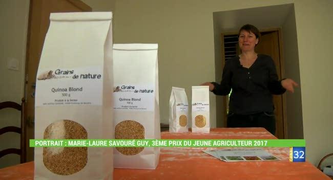 Canal 32 - Le quinoa se cultive aussi dans l'Aube