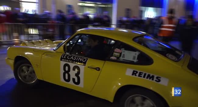 Canal 32 - Le rallye Monte-Carlo historique est passé par Bar-sur-Aube. Reportage complet.