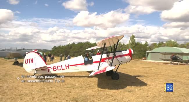 Canal 32 - Le rassemblement Fly-In 2020 à Celles-sur-Ource a été un succès
