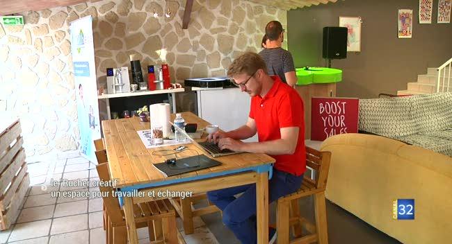 Canal 32 - Le Rucher créatif : un espace pour travailler et échanger
