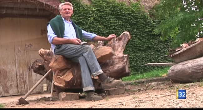 Canal 32 - Chessy-les-Prés : hommage à René Prestat, le sculpteur paysan