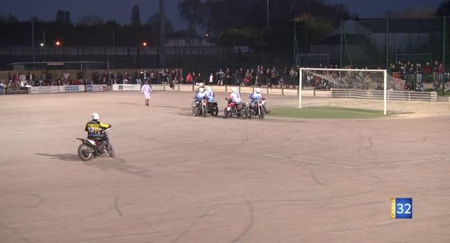 Canal 32 - Le Suma s'impose face à l'équipe de France de motoball en match amical