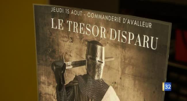 Canal 32 - Avalleur : le Trésor disparu, un escape game pour découvrir les secrets des Templiers