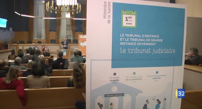 Canal 32 - Le Tribunal Judiciaire : le guichet unique de la justice