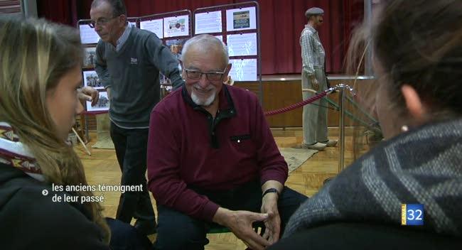 Canal 32 - Arcis-sur-Aube : quand les anciens témoignent de leur passé