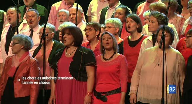 Canal 32 - Les chorales auboises terminent l'année en choeur