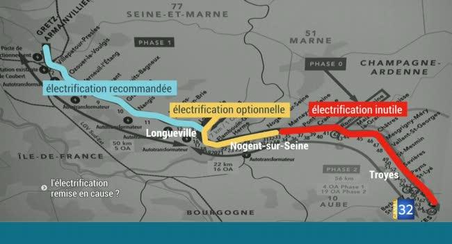 Canal 32 - Remise en cause de l'électrification : les élus montent au créneau