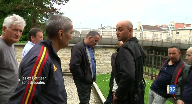 Canal 32 - Les licenciés de Petitjean déboutés et dégoûtés