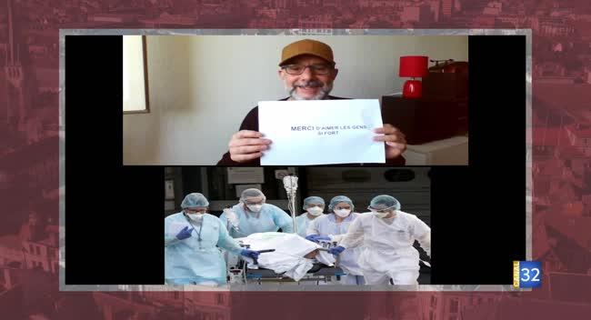 Canal 32 - Les messages des Aubois #14 - Hommage au personnel soignant