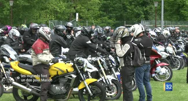 Canal 32 - Saint-Léger-près-Troyes : les motards aubois roulent pour Marion