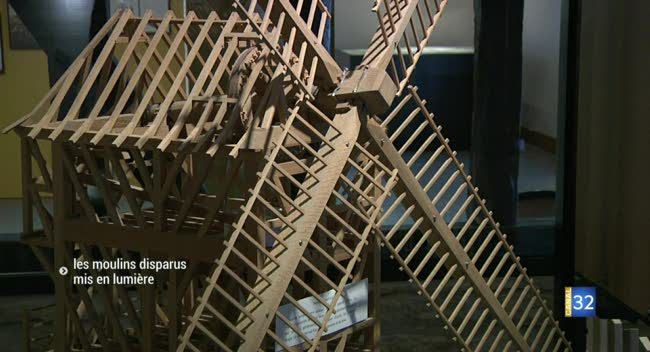 Canal 32 - Les moulins disparus mis en lumière à Saint-Julien-les-Villas