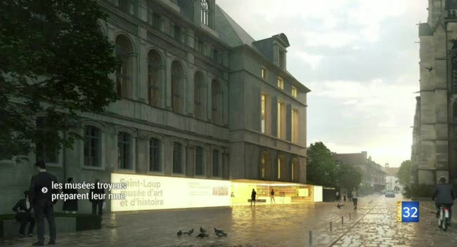 Canal 32 - Les musées d'Art Moderne et Saint-Loup se préparent à la rénovation
