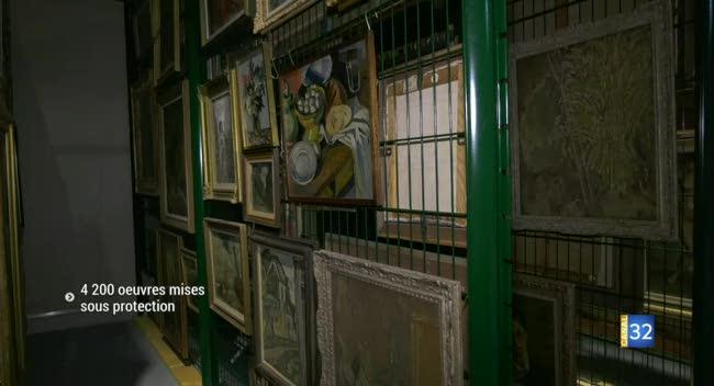 Canal 32 - Troyes : les oeuvres du Musée d'Art Moderne déménagées avant les travaux