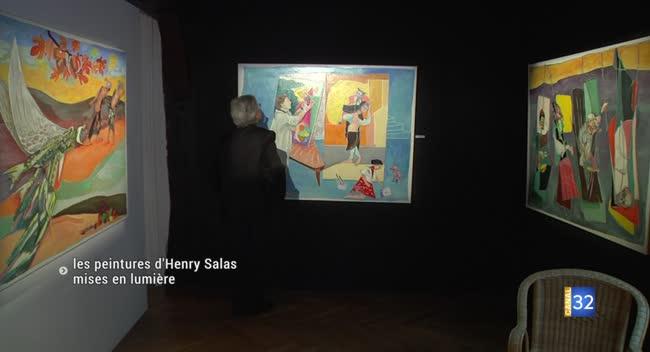 Canal 32 - Les peintures d'Henry Salas à voir à La Maison du Boulanger
